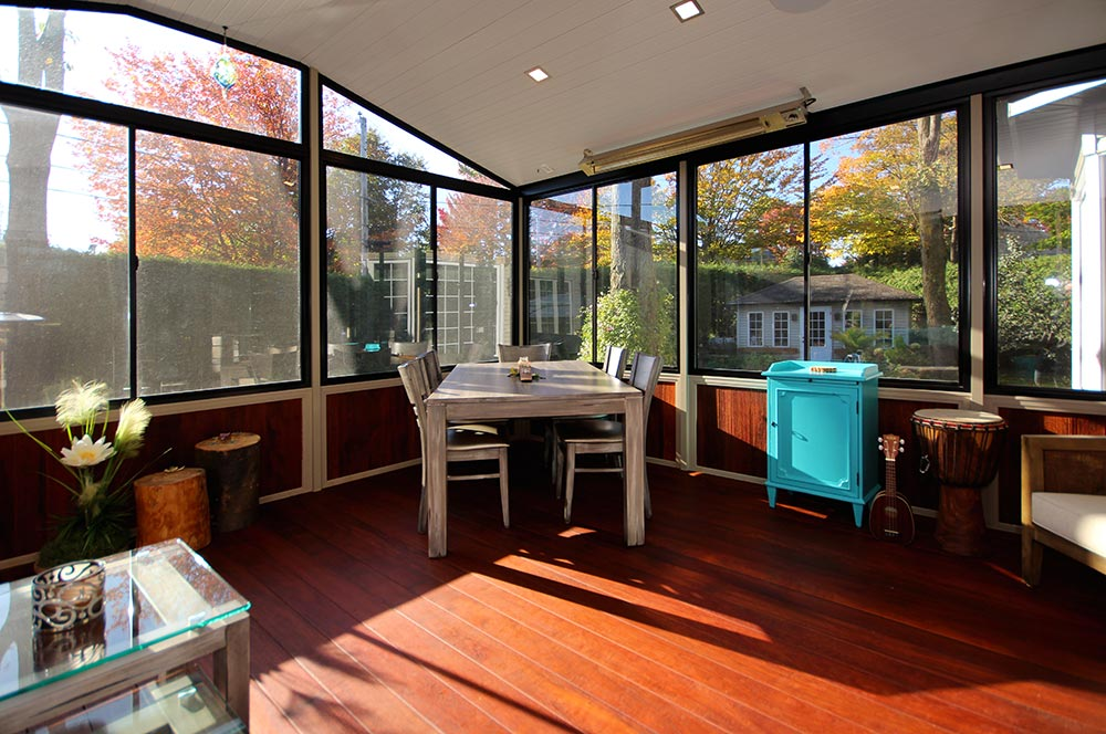 terrasse ferme veranda trendy fermeture de terrasse produalu with terrasse ferme veranda. Black Bedroom Furniture Sets. Home Design Ideas